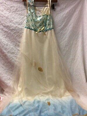 Womens ROMAN BEAUTY QUEEN Greek GODDESS Dress costume Size 4 6 8 robe togo gown (Beauty Queen Costumes)