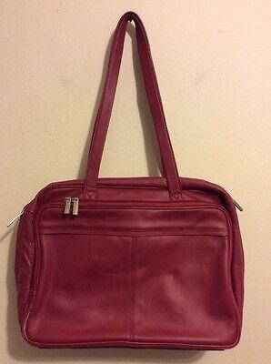 SAMSONITE LAPTOP BRIEFCASE SHOULDER BAG RED