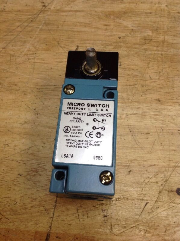 Honeywell LSA1A 9950 Micro Switch