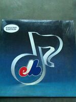 Expos LP album English version 1983 Sealed never used.