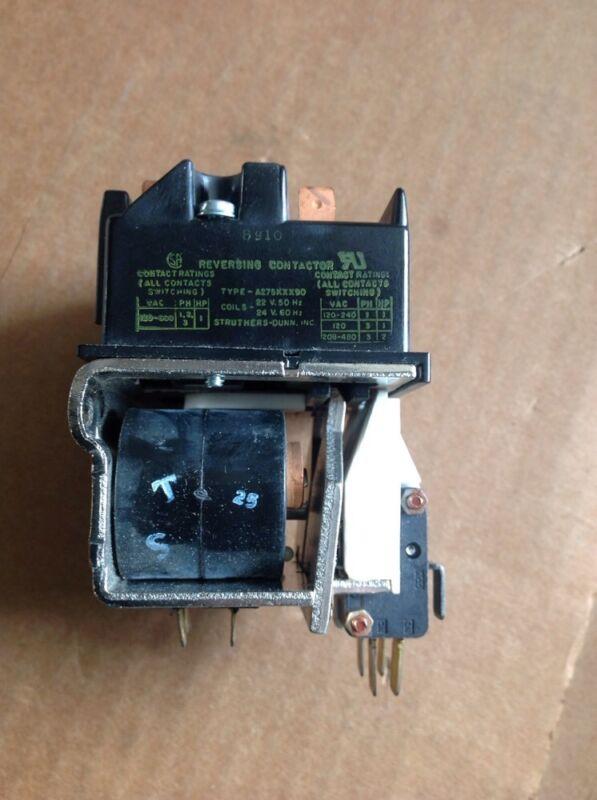 Struthers-Dunn Reversing Contactor A275KXX90