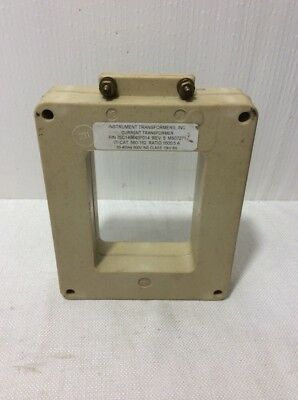 Instrument Transformers 560-162 Current Transformer Ratio 16005a 600v