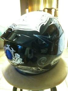 SHOEI TC-1100 HELMET IN VERY GOOD CONDITION SIZE L Windsor Region Ontario image 8