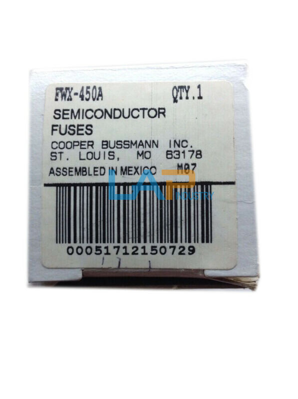 1PCS NEW For Bussmann FWX-450A Semiconductor Fuse