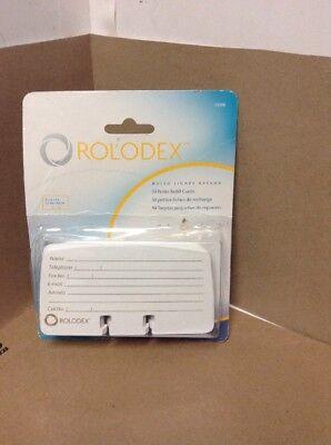 Rolodex Petite List Finder Card Refill 15359 50 Refill