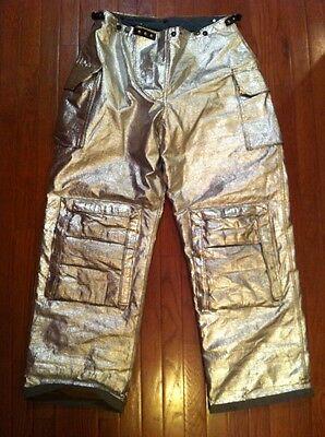 Fire Gear Firestar L82spm Ladies Firefighter Turnout Proximity Pants 36-32 Exc.