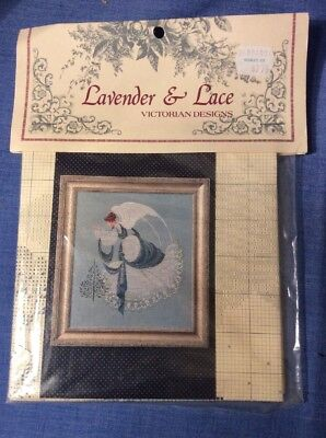 - Ice Angel Victorian Cross Stitch Design By Lavender & Lace NIP