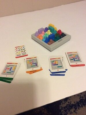 Rush Hour Board Game (Binary Arts RUSH HOUR TRAFFIC JAM GAME COMPLETE Cars, Board, Cards )