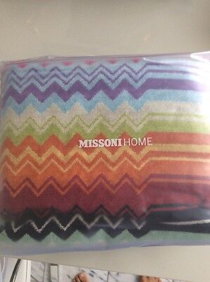 NWT MISSONI 3 PIECE KEITH BEACH TOWEL BAG PILLOW $524 4 AVAILABLE TERRY COTTON