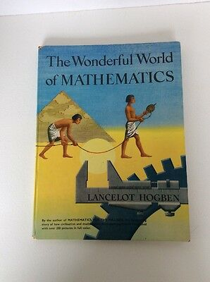 The Wonderful World Of Mathematics Vintage 1955 Book 1St Ed