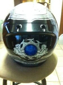 SHOEI TC-1100 HELMET IN VERY GOOD CONDITION SIZE L Windsor Region Ontario image 5