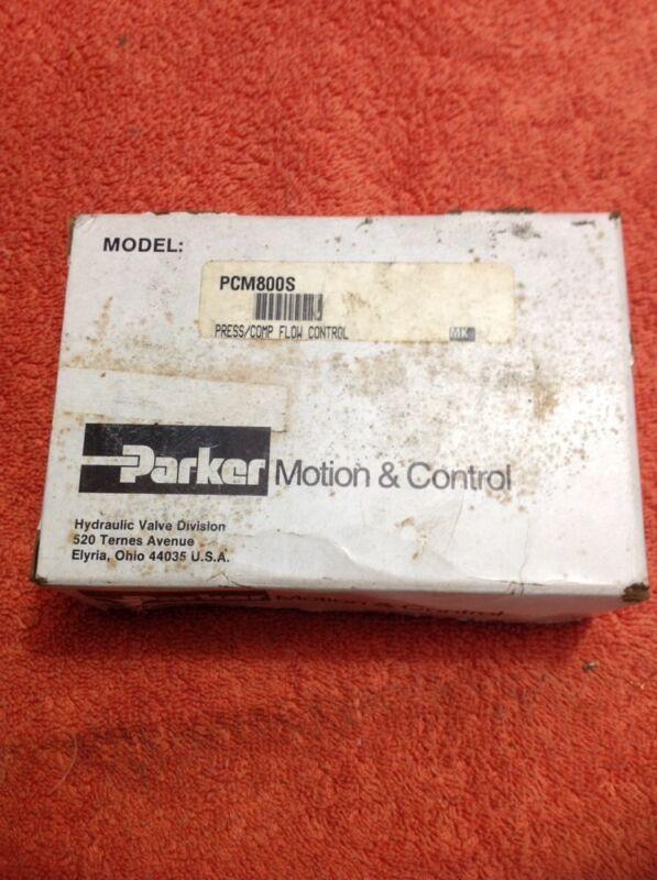 Parker Motion & Control Flow Control Valve PCM800S