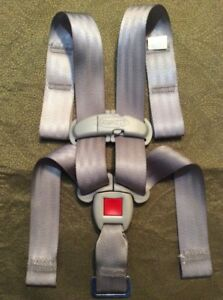 Graco Click Connect 30 35 Baby Car Seat Gray Replacement Straps Buckle Harness