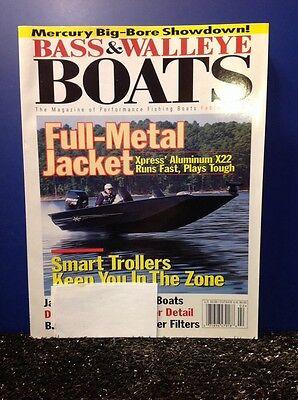 Bass & Walleye Boats BWB Magazine Issue 2001 February Xpress X22 Tracker Targa