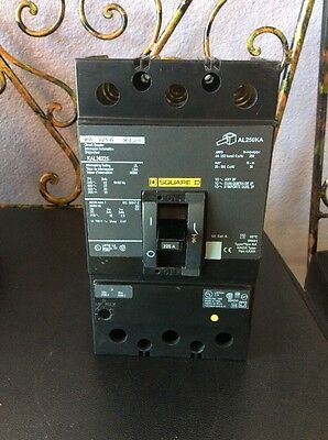 Square D Kal36225 Circuit Breaker 3 Pole 225 Amp 600 Volt Never Used Not Box