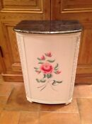 Vintage Wicker Laundry Hamper