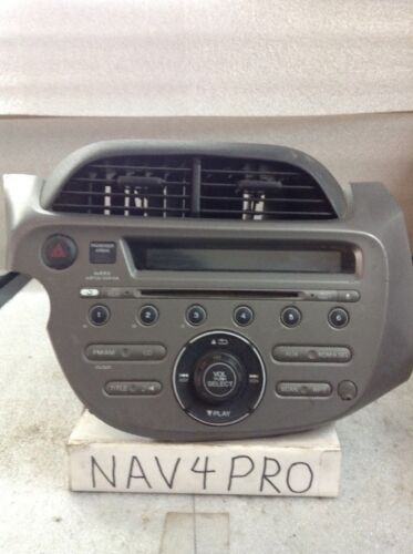 2009 2010 2011 2012 2013 Honda Fit Radio Cd Player OEM 39100-TK6-A014-M1 #A50