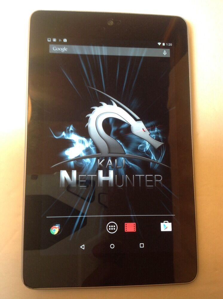 Nexus 7 32GB + 3G Kali Nethunter 3.15 Wifi Hacking Security Penetration Tablet