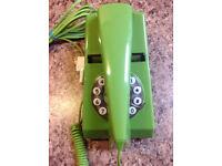Green 'Trim Phone' Vintage style