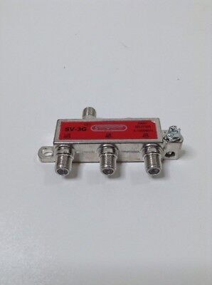 Signal Vision 3Way Splitter SV-3G 5-1000MHz for sale  Shipping to India