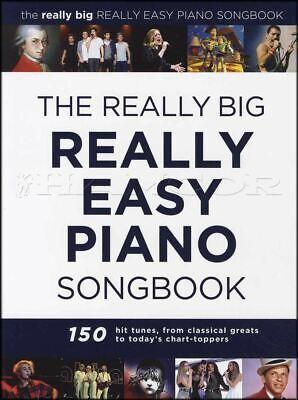 The Really Big Really Easy Piano Songbook Sheet Music Book Coldplay Vivaldi ABBA