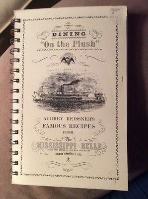 The Mississippi Belle Riverboat 1972 Cookbook Softcover Spiral Vintage