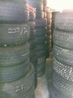 "195, 205/215/225/235/265 x15"" @ 95% NewTruck  Racks"