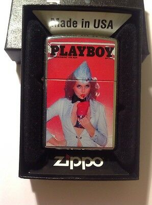 zippo lighter Playboy Magazine Cover Pin Up