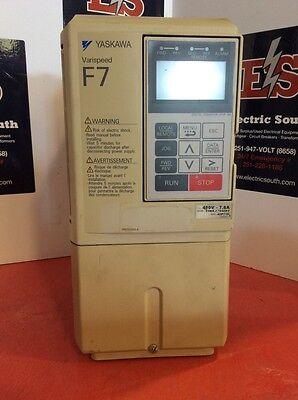 Yaskawa Varispeed F7 Drive Cimr-f7u43p7 3 Hp 480 Volt