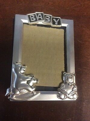 Godinger Silver Plate Baby Photo Frame Book With 25 2-Sided Insert -