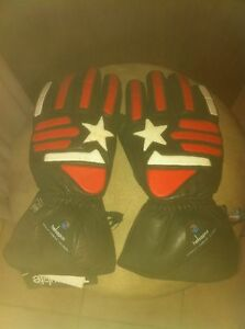 NEW  MOTORCYCLE WINTER GLOVES WITH KEVLAR AND THINSULATE Windsor Region Ontario image 2