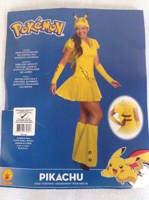 Rubie's Pikachu Pokémon Adult Costume - XS - New