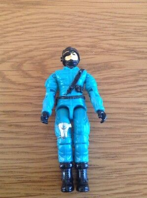 G I Joe Sonic Fighter Psyche Out 1990 Original Vintage Action Figure