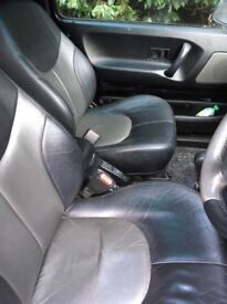 Land Rover freelander leather heated seats