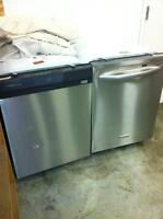Dishwashers -  in  Stainless, White or Black $180 to $349 > SALE