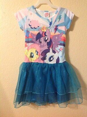 My Little Pony Tutu Kleid Größe M 7/8) ()