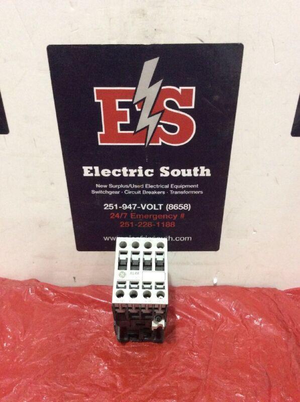 GE General Electric Contactor RL4RA040T 24 Volt