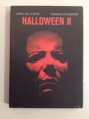 HALLOWEEN 2 MOVIE (DVD).HALLOWEEN SPECIAL (GLOW IN THE DARK SLIP COVER).LAST ONE - Halloween 2 The Movie