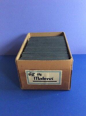 AlteGlasdias 43 Stück  für Diaprojektor aus der Zeit um 1910-20