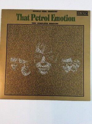 THAT PETROL EMOTION Double Peel Sessions Vinyl LP SFPMA205 VG/VG-