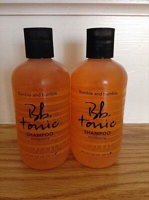 LOT OF 2 NEW BUMBLE AND BUMBLE BB TONIC SHAMPOO TEA TREE OIL Rosemary 8 oz 250ml