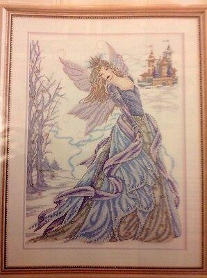 Snow Fairy By Joan Elliott Christmas Cross Stitch Chart