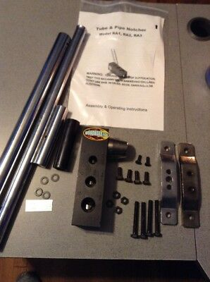New Tube And Pipe Notcher Steel Heck Industries Wfn1 Woodward-fab 30nx59