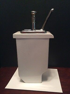 Hall Stanley Knight K-104 Vintage Soda Fountain Shop Strawberry Syrup Dispenser