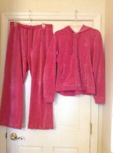 7b9dca8073536 Pink Velour Tracksuit: Women's Clothing | eBay