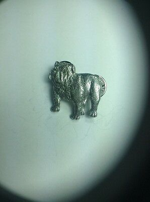 Bulldog Pin Made Of Fine Pewter