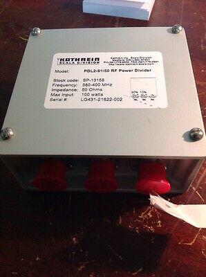Kathreinscala Pdl2-9150 Radio Power Divider No Mounting Bracket