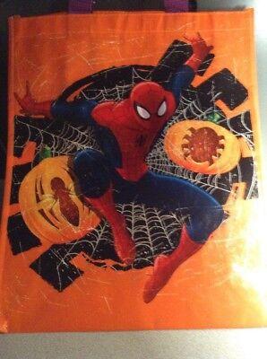 Marvel Spider-Man TOTE BAG REUSABLE ECO BAG Halloween Trick Or Treat Sack](Spider Sack Halloween)