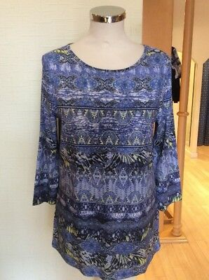 Betty Barclay Top Size 12 BNWT Blue Lemon Patterned RRP £60 Now £27 - Barclay Barclay 60