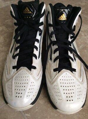 3f9945753b6 ADIDAS Adizero Athletic Basketball Cross Sport Training Shoes Men s Size 7